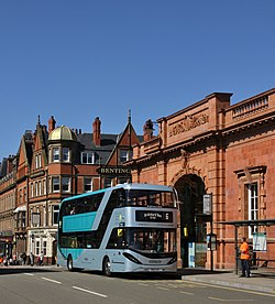 Scania AlexanderDennis Enviro400 CBG City YN18 SVD Nottingham CarringtonSt.jpg