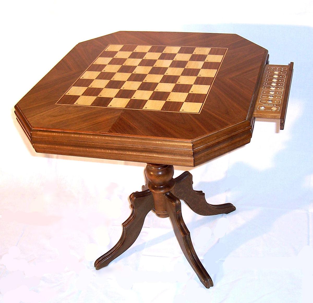 Table De Jeu Decor De Breuyn