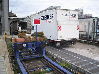 Schenker AG company in the Czech Republic