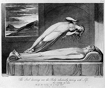 Schiavonetti Soul leaving body 1808