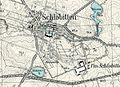 "Schlobitten in Ostpreußen, (heute ""Słobity"" in Polen) Plan 1899.jpg"