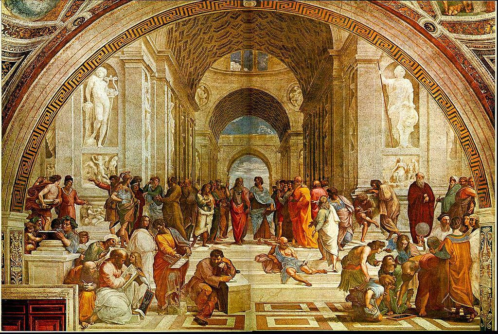 """The School of Athens"" by Raphael"