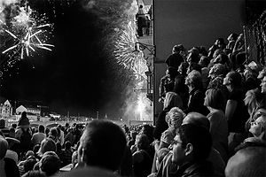 Swiss National Day - Fireworks in Basel
