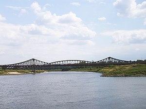 Ścinawa - Oder bridge