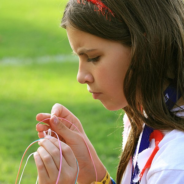 File:Scout Girl in Concentration.jpg