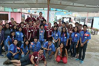 Scouts Canada - Brotherhood project in 2014 visited Peru.