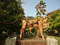 Sculpture Subhash Bose Park Ernakulam.JPG