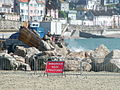 Sea Defences being put in place at Lyme Regis - geograph.org.uk - 866251.jpg