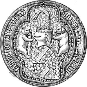 Richard Beauchamp, 13th Earl of Warwick - Seal of Richard Beauchamp, Earl of Warwick