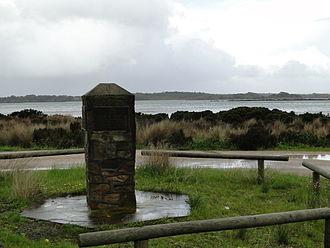 American River, South Australia - Sealers memorial at American River