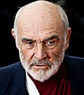 Photo of Sean Connery at the Edinburgh International Film Festival in 2008.