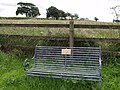 Seat at Chapple Cross - geograph.org.uk - 483789.jpg