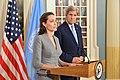 Secretary Kerry and UNHCR Special Envoy Jolie Pitt Address the Press (27729399611).jpg