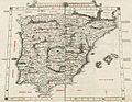 Secunda Europae Tabula (España, Baleares y Portugal), por Bernardus Sylvanus.jpg