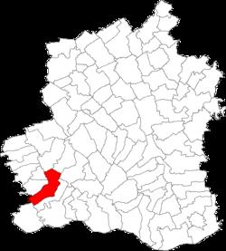 Vị trí của Segarcea Vale