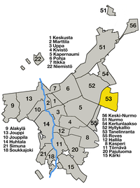 Seinäjoki central districts - 53 Tanelinranta.png