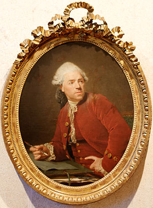 Nicolas Bernard Lépicié - Nicolas-Bernard Lépicié, selfportrait (c. 1777)  Lisbon, Calouste Gulbenkian Museum.