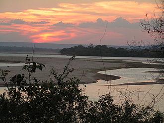 Rufiji River - Rufiji River in Selous