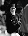 Serbian Orthodox clergyman during Vidovdan in Kosovo.jpg