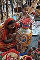 Shaharnu Chitrakar with Son - Kolkata 2014-12-06 1149.JPG