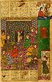 Shams al-Din Kirmani - Alexander the Great Received by the Khaqan of China - Walters W611232B - miniature.jpg