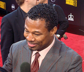 Shane Mosley - Mosley at the American Music Awards of 2009