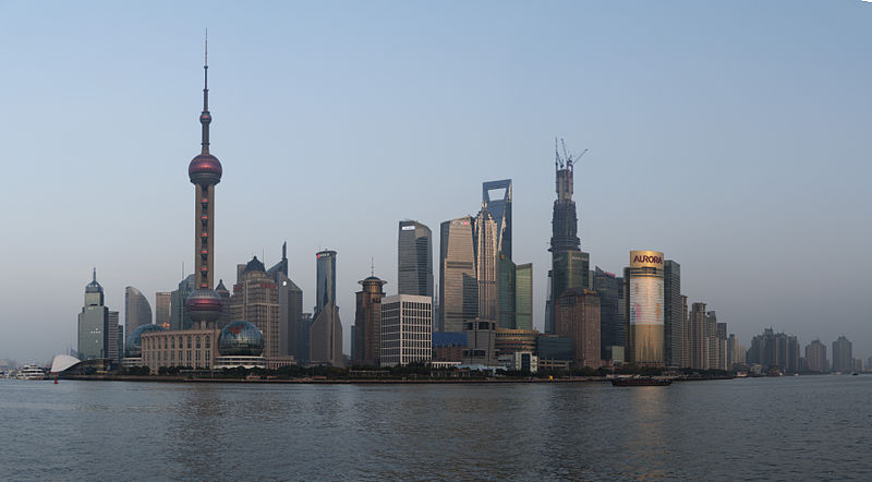File:Shanghai - Bund at Night.jpg
