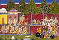 Shatrughna listens to Lava-Kusha.jpg