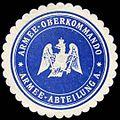 Siegelmarke Armee - Oberkommando - Armee - Abteilung A. W0238156.jpg