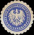 Siegelmarke Der Kgl. Kreisarzt des Kreises Meisenheim W0380477.jpg