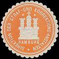 Siegelmarke Direktion der Straf- und Korrektions-Anstalten Hamburg W0355846.jpg