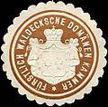 Siegelmarke Fürstlich Waldecksche Domänen Kammer W0216666.jpg