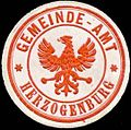 Siegelmarke Gemeinde-Amt Herzogenburg W0318060.jpg