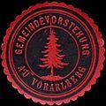 Siegelmarke Gemeindevorstehung Au - Vorarlberg W0261589.jpg