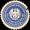 Siegelmarke Königliche Eisenbahn Betriebs - Amt Berlin - Eisenbahn - Directions - Bezirk - Frankfurt am Main W0219771.jpg