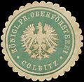 Siegelmarke K.Pr. Oberförsterei Colbitz W0369012.jpg