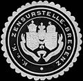 Siegelmarke K.u.K. Zensurstelle - Bregenz W0261342.jpg