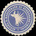 Siegelmarke Siegel des Magistrats zu Sternberg in Mecklenburg W0345590.jpg