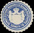 Siegelmarke Verwaltung des Grossh. Museums und der Grossh. Kunstsammlung Schwerin W0349084.jpg
