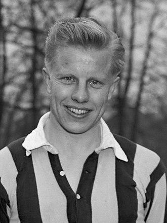 Sjaak Alberts - Sjaak Alberts in 1952