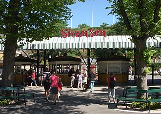 Skansen - Main entrance