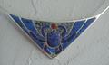 Skarabeusz nr 1 - naszyjnik - srebro próba 0,925 - projekt i wykonawstwo Henryk Jan Dominiak - foto 3.png