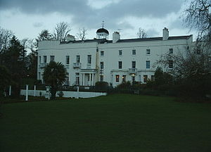 Sketty Hall - early morning from Singleton Park - geograph.org.uk - 295690.jpg