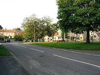 Skillington Village and civil parish in the South Kesteven district of Lincolnshire, England