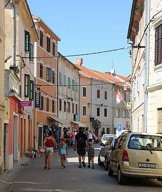 Skradin - Town centre