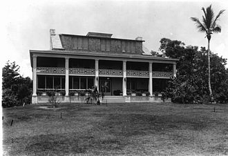 Charles Deering Estate - The Richmond Cottage a year after it was purchased by Charles Deering in 1916.