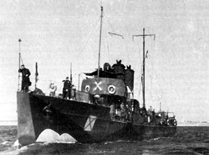 Black Sea campaigns (1941–44) - Romanian torpedo boat Smeul