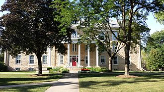 Ripon College (Wisconsin) - Smith Hall.
