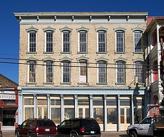 National Register of Historic Places listings in Grimes County, Texas - Image: Smith hotel navasota 2008
