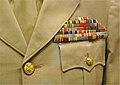 Smithsonian National Museum of American History - Dwight D. Eisenhowers ribbons (8306563965).jpg